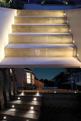 đèn led âm tường 220v
