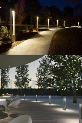 đèn trụ sân vườn nhỏ