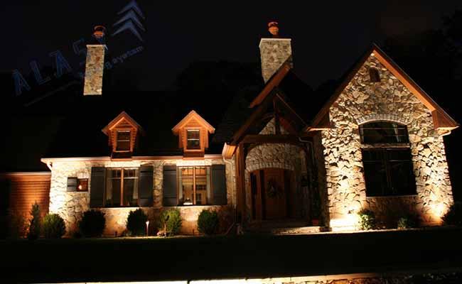 Thiết Kế Đèn LED Cho Mặt Tiền Tòa Nhà